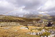 Spain, Pyrenees, Ordesa y Monte Perdido National Park, Canon de Anisclo with Sestrales Aloto and Bajo - LAF000270