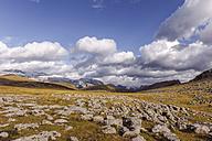 Spain, Pyrenees, Ordesa y Monte Perdido National Park, Canon de Anisclo with Sestrales Aloto and Bajo - LAF000278