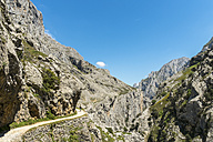 Spain, Asturia, Picos de Europa National Park, Ruta del Cares, Trail from Poncebos to Cain - LAF000293