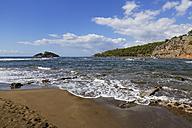 Turkey, Dalyan, Iztuzu beach with Dalyan estuary - SIEF004749
