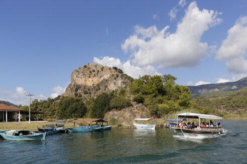 Turkey, Dalyan, Mountain fortress of Kaunos - SIE004741