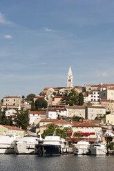 Croatia, Istria, Vrsar, Parish Church of St. Martin above the harbour - KJF000278