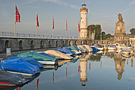 Germany, Bavaria, Lindau, Lighthose at Lake Constance - SH001133