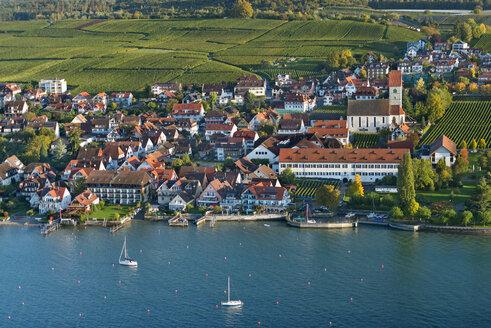Germany, Baden-Wurttemberg, Aerial view of Hegnau - SH001174