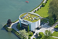 Germany, Bavaria, Lindau, Aerial view of Casino - SH001114