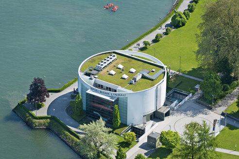 Germany, Bavaria, Lindau, Aerial view of Casino - SH001114