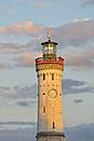 Germany, Bavaria, Lindau, Lighthose at Lake Constance - SH001105