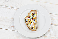 Bread and butter with tablets - DRF000309