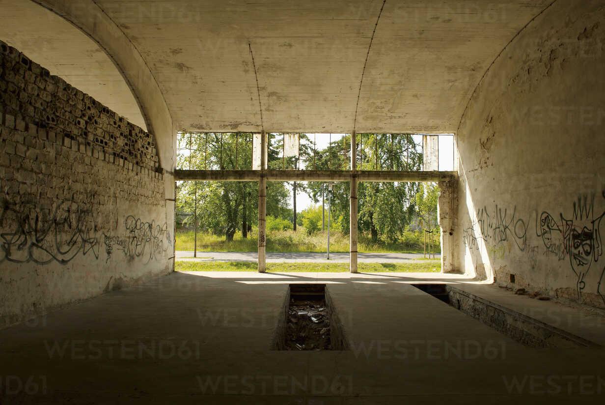 Germany, Brandenburg, Wustermark, Olympic village 1936, formerly hangar - VI000040 - visual2020vision/Westend61