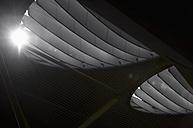 Spain, Fuerteventura, part of ceiling at airport - VI000161