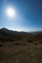 Spain, Fuerteventura, Pajara, mountainscape - VI000176