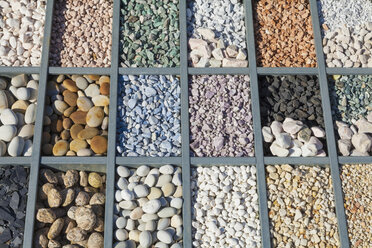 Germany, natural stones, different pebbles and grit - WDF002112