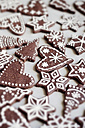 Gingerbread decorated with sugar icing - CZF000124