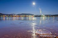 Germany, Rhineland-Palatinate, Bad Hoenningen, Rhine river in winter - PA000062