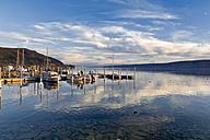 Germany, Baden-Wuerttemberg, Bodman-Ludwigshafen, Uberling Lake, marina - MS003139