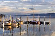 Germany, Baden-Wuerttemberg, Bodman-Ludwigshafen, Uberling Lake, marina - MSF003137