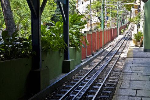 Brazil, Rio de Janeiro, Corcovado, Train station of Corcovado - AMCF000023