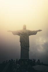 Brazil, Rio de Janeiro, Corcovado, Jesus Christ the Redeemer statue - AMC000010