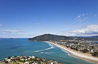 New Zealand, Coromandel Peninsula, View of Pauanui village and beach - GW002428