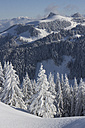 Germany, Bavaria, Sudelfeld, Mountains in winter - FFF001388
