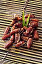 Tunisian dates on bamboo tray - CSF020518
