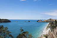 New Zealand, Coromandel Peninsula, Hahei Beach - GW002425