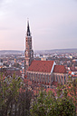 Germany, Bavaria, Landshut, view to St Martin's church - SARF000159