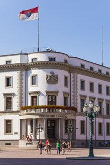 Germany, Hesse, Wiesbaden, Hessian Landtag in Stadtschloss - WD002134