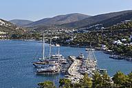Turkey, Bodrum, Torba, Marina - SIE004854