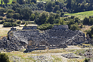 Turkey, Lycia, Ancient city Tlos, Theater - SIEF004889