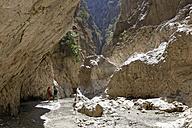 Turkey, Mugla, Saklikent Canyon - SIE004891
