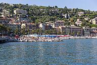 Italy, Liguria, Santa Margherita Ligure, Old town and beach - AM001469
