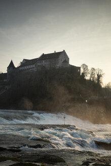 Switzeland, Schaffhausen, Rhine falls with Laufen Castle - ELF000722