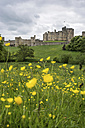 UK, Northumberland, Alnwick, view to Alnwick Castle - PAF000129