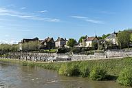 France, Departement Saone-et-Loire, Digoin, promenade at river Loire - LA000455