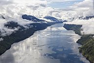 Canada, British Columbia, Khutzeymateen Provincial Park, Great Bear Rainforest, aerial view - FOF005428