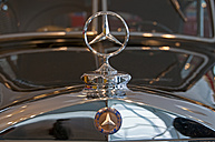 Mercedes Benz star on car bonnet - WG000161