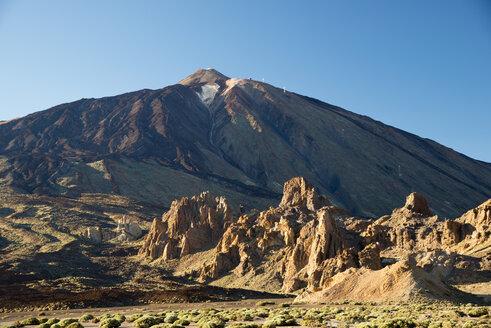 Spain, Canary Islands, Tenerife, Canadas del Teide National Park, Ucanca plains and Roques de Garcia - WG000164