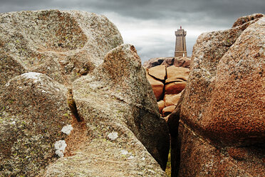 France, Bretagne, Perros-Guirec, Lighthouse Mean Ruz - BI000263