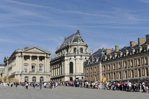 France, Region Île-de-France,  Departement Yvelines, Palace of Chateau de Versailles, Castle Chapel - LB000451