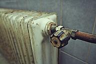 Germany, Bavaria, old heater - DSCF000130
