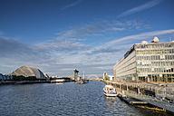 Great Britain, Scotland, Glasgow, River Clyde, Squinty Bridge, Clyde Arc, Clyde Auditorium, BBC Scotland - PA000169