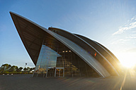 Great Britain, Scotland, Glasgow, Clyde Auditorium at sunset - PA000173