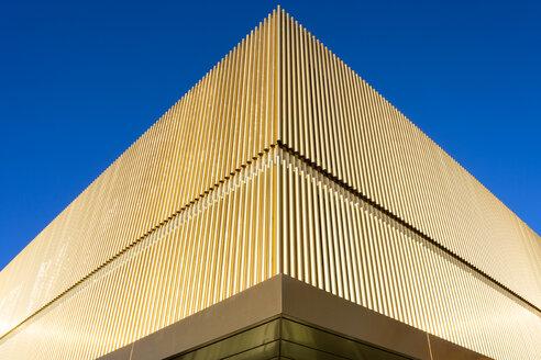 Germany, Munich, Lenbachhaus, extension building, part of facade - TC003772