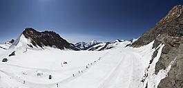 Switzerland, Bernese Oberland, Aletsch Glacier and Jungfraujoch - WW002928