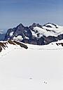 Switzerland, Bernese Alps, Grindelwald, Wetterhorn, Ewigschneefeld and Fieschersattel mountains - WWF002938