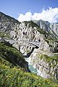 Switzerland, Uri, Devil's Bridge in Schollenen Gorge - WWF002970