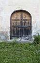 Switzerland, Poschiavo, Front door, close up - WWF003000