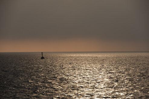 Croatia, Istria, Vrsar, sea at twilight - KJF000295