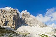 Italy, Province of Belluno, Veneto, Auronzo di Cadore, Tre Cime di Lavaredo - MJF000460